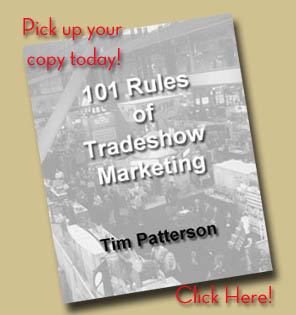 "Click here to get your copy of ""101 Rules of Tradeshow Marketing"""